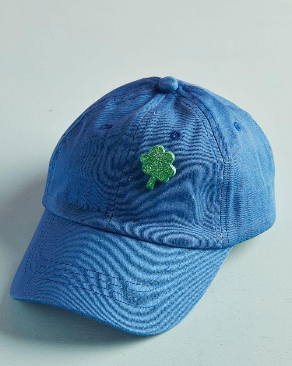 <p>Once you roll, cut, bake, and paint these shamrocks, glue a brooch pin or magnet on the back, depending if you want to wear it or put it on display. </p>