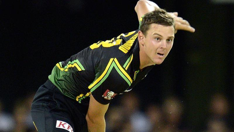 Josh Hazlewood has played in the T20 World Cup