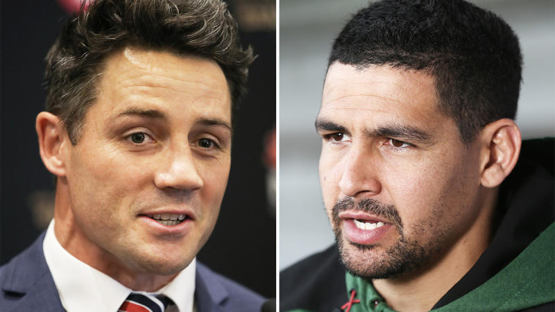 Cooper Cronk (pictured left) and Cody Walker (pictured right).