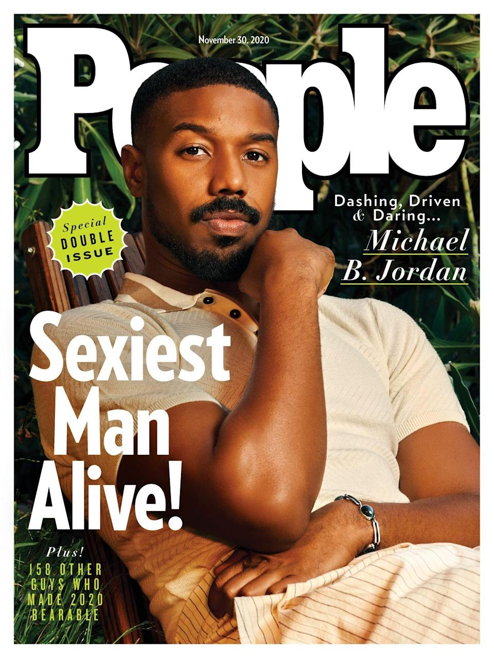 Sexiest Man Alive Michael B. Jordan Hopes to Have a Legacy Like Kobe Bryant and Chadwick Boseman