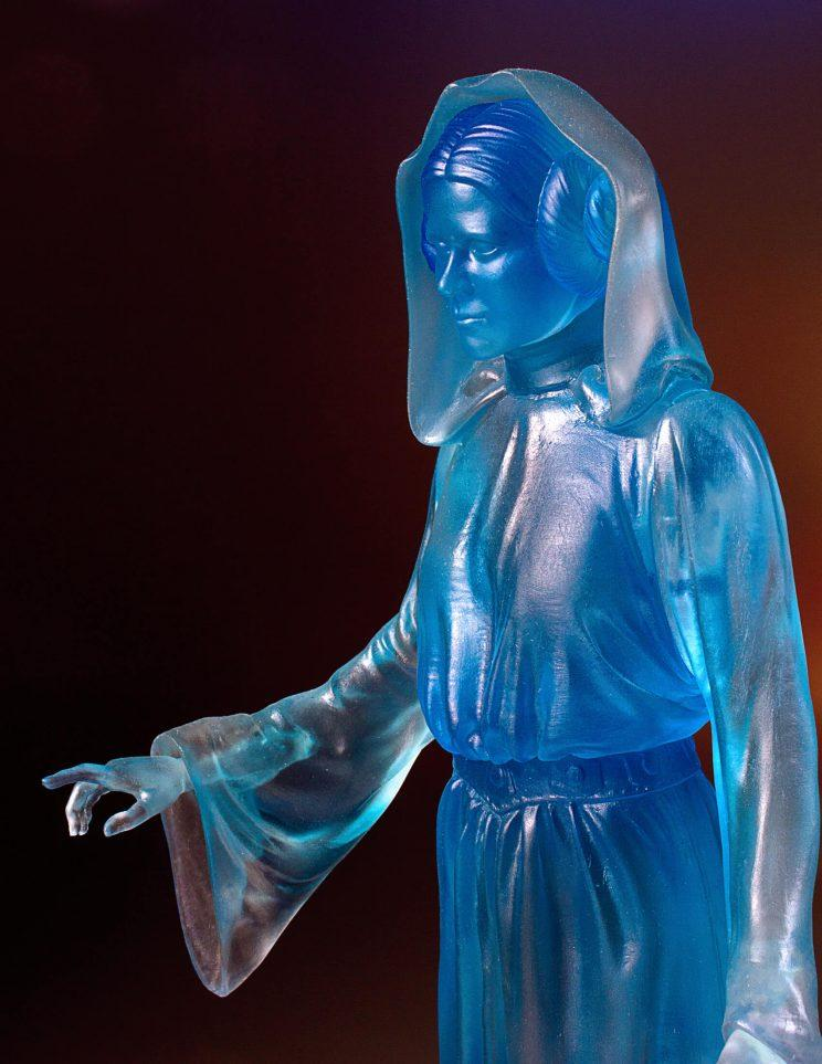 Holographic Princess Leia Collector's Gallery Statue