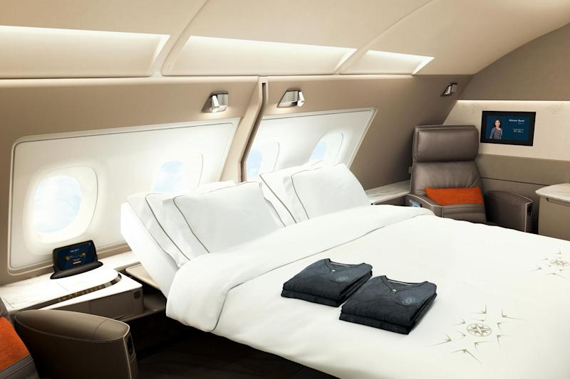 Carriers have upped their game when it comes to flying first class: Singapore Airlines
