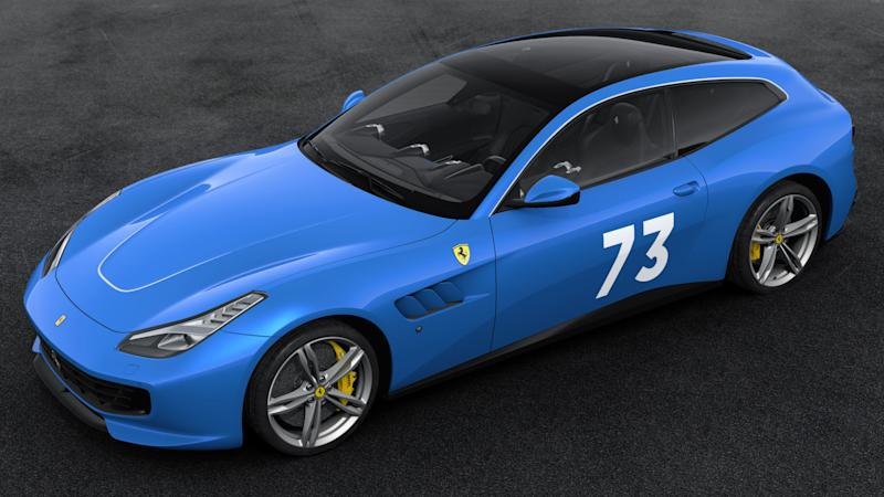 Ferrari 70th Anniversary Livery Number #15