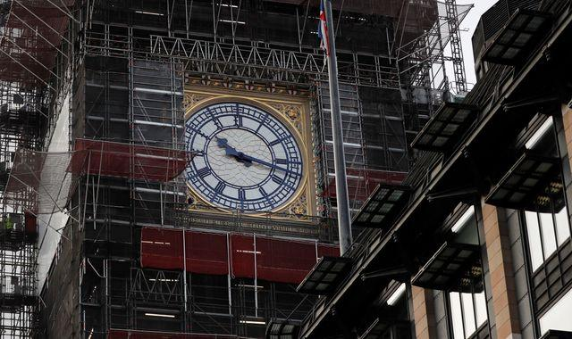 Big Ben roof scaffolding will begin to be removed this week in 'memorable moment'