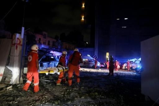 Around 4,000 people were hurt by the blasts, with injuries recorded right across the city