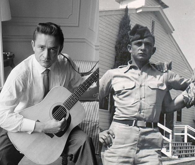 Johnny Cash Military