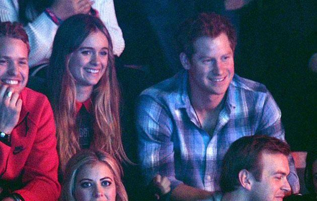 Prince Harry dates Cressida Bonas for two years. Photo: Getty Images