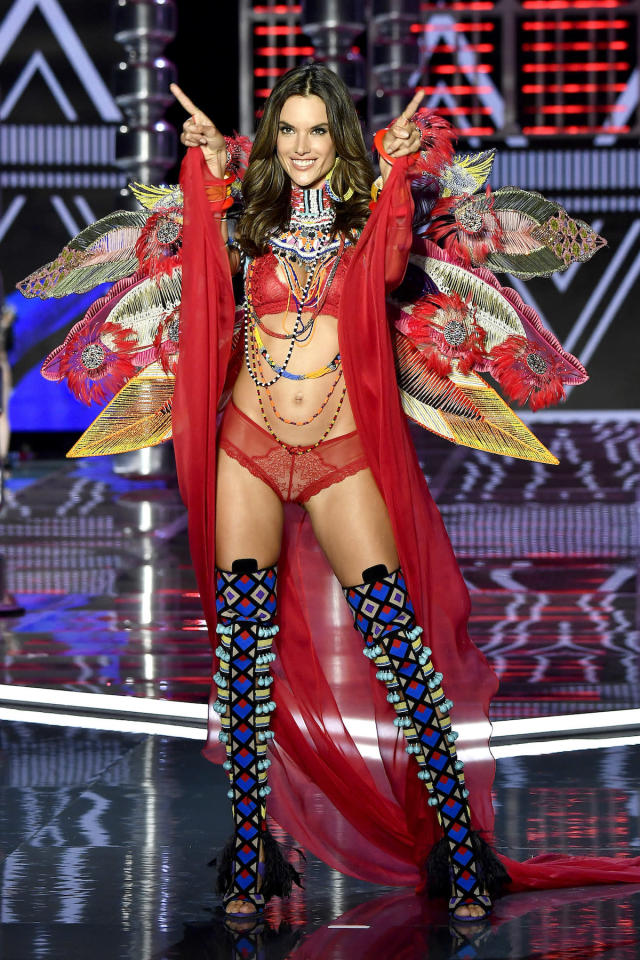 """<p>Model Alessandra Ambrosio revealed that this year's edition of the Victoria's Secret fashion show <a href=""""https://www.yahoo.com/lifestyle/alessandra-ambrosio-reveals-2017-victoria-084456611.html"""" data-ylk=""""slk:would be her last;outcm:mb_qualified_link;_E:mb_qualified_link"""" class=""""link rapid-noclick-resp newsroom-embed-article"""">would be her last</a>. Instead, she plans to spend more time working on her swimsuit line and acting. (Photo: Getty Images) </p>"""
