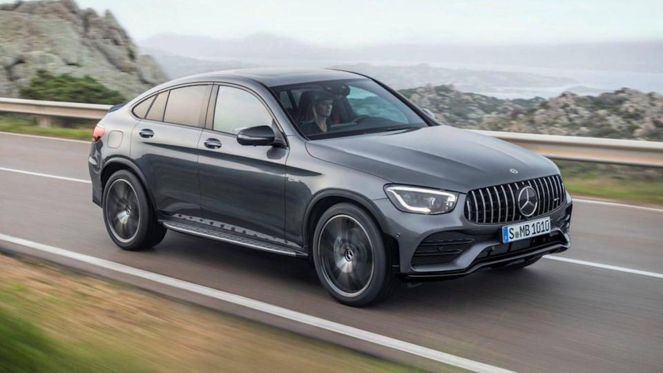 Mercedes-AMG GLC 43 Coupe to be launched on November 3