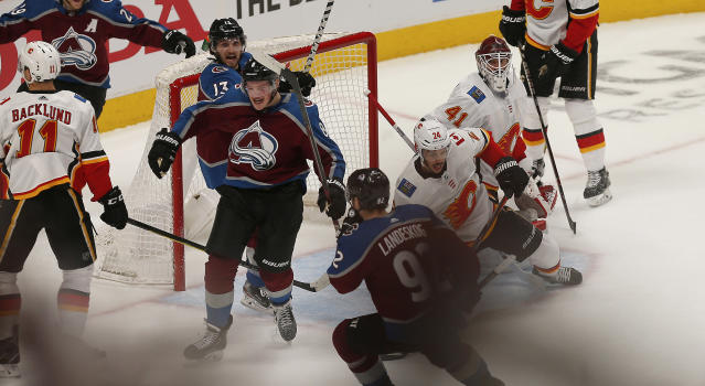 Cale Makar's life during the past few days has been absolutely nutty. (Photo by Russell Lansford/Icon Sportswire via Getty Images)