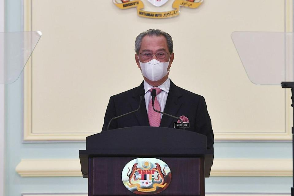 Prime Minister Tan Sri Muhyiddin Yassin has no further excuse not to reconvene Parliament, says Pejuang party. — Bernama file pic