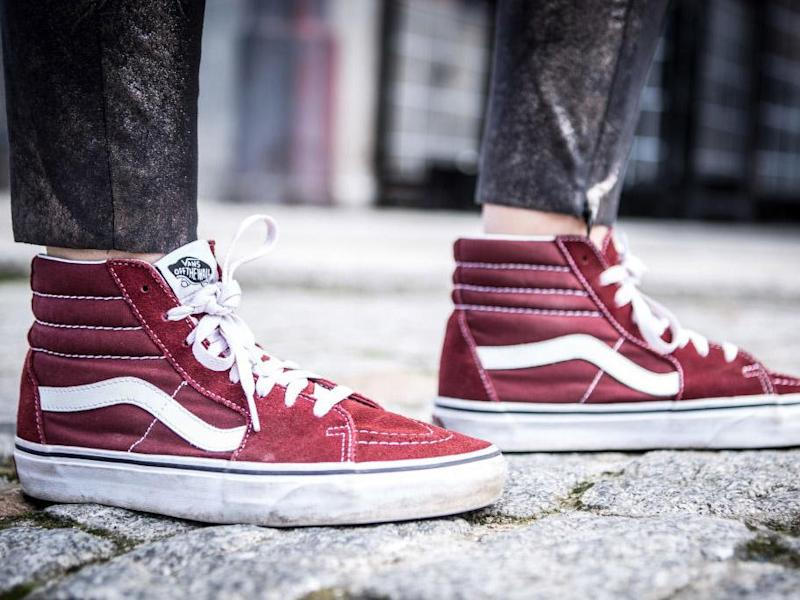 Vans Challenge: Twitter craze involves people throwing their shoes on the floor