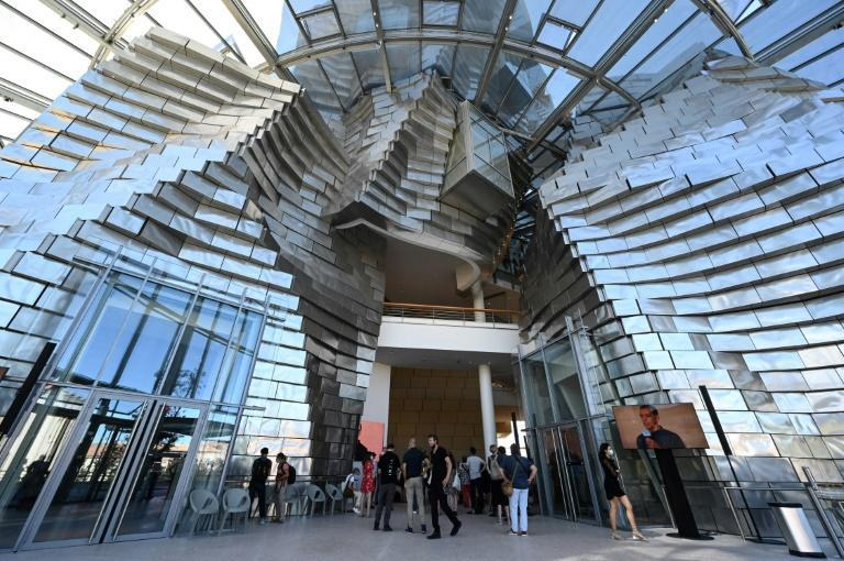 """The tower is the flagship attraction of a new """"creative campus"""" in Arles"""