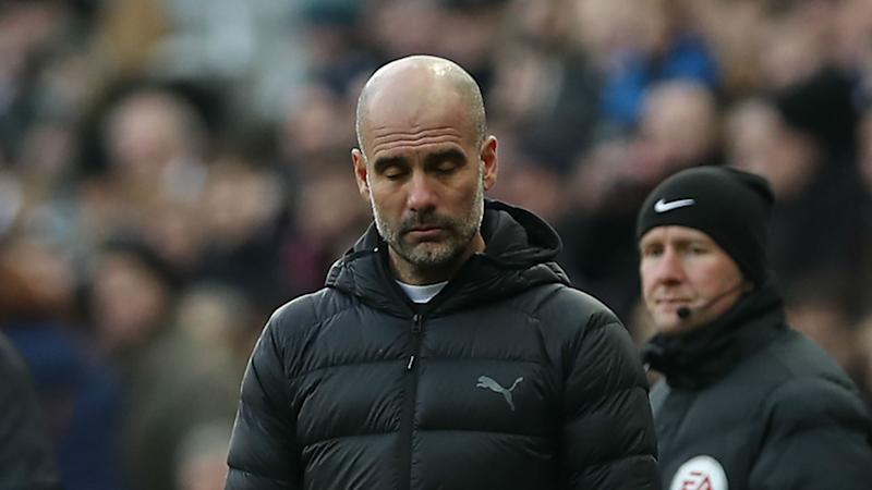We never give up – Guardiola defends misfiring Man City stars