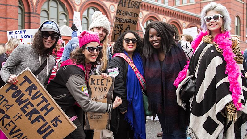 A Guide to Joining Every Women's March in a Major City Near You