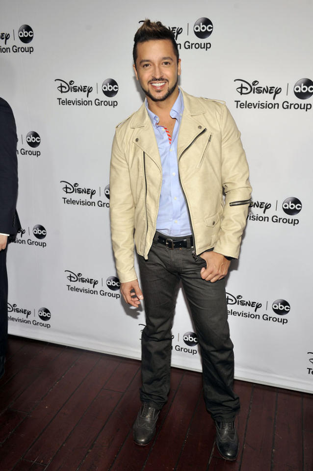 "Jai Rodriguez (""Malibu Country"") attends the Disney ABC Television Group 2013 TCA Winter Press Tour at The Langham Huntington Hotel and Spa on January 10, 2013 in Pasadena, California."