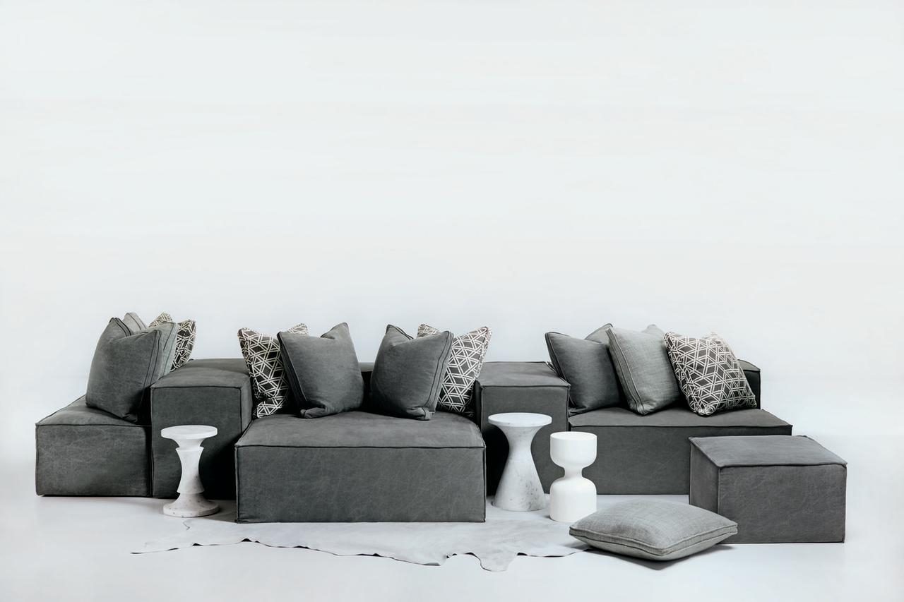 """<p>Format seating includes five pieces one can combine in multiples to create any formation imaginable. Pieces can be lifted and rearranged as the occasion sees fit. The line features removable slipcovers, firm inner coil seating for support and comfort, and well-padded arm and back pieces designed for perching. Mix and multiply to design interactive spaces.</p><p><a rel=""""nofollow"""" href=""""http://www.bernhardt.com/"""">BERNHARDT.com</a> </p>"""