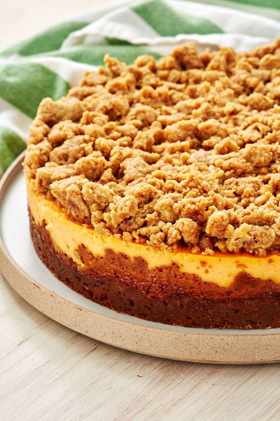 """<p>Who says a casserole is the only way to enjoy sweet potatoes this Thanksgiving?</p><p>Get the recipe from <a href=""""https://www.delish.com/holiday-recipes/thanksgiving/a29177922/sweet-potato-cheesecake-recipe/"""" rel=""""nofollow noopener"""" target=""""_blank"""" data-ylk=""""slk:Delish"""" class=""""link rapid-noclick-resp"""">Delish</a>.</p>"""