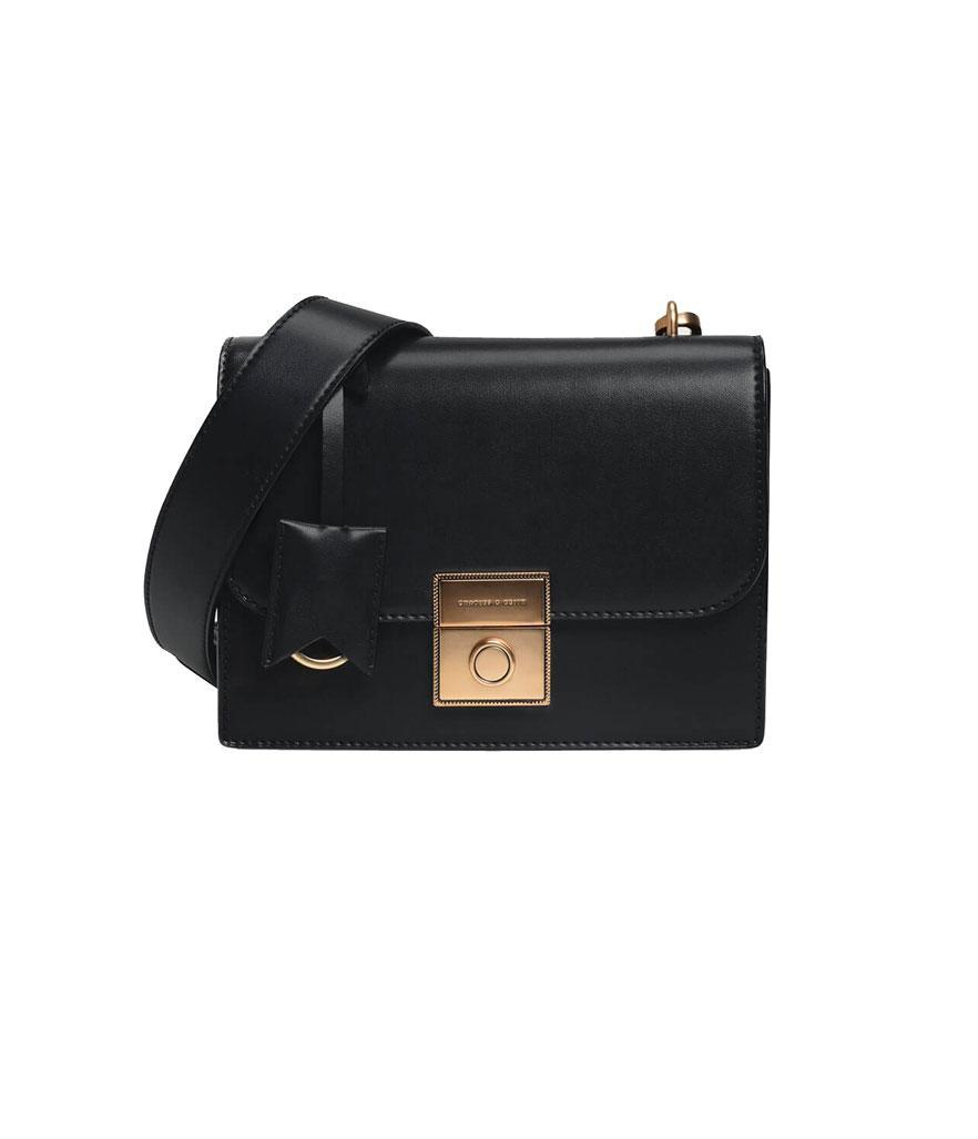 Charles & Keith Structured Crossbody Bag (Photo: Charles & Keith)