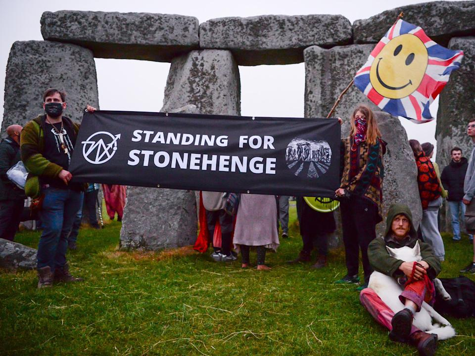 The campaigners had brought a judicial review against the government's approval of the project (Getty Images)