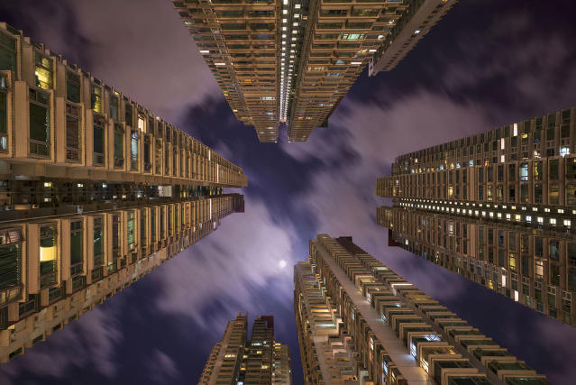 "<p>""I can't think of any other city in the world whose verticality has been taken to quite the extreme as in Hong Kong. (Photo: Romain Jacquet-Lagreze/Caters News) </p>"