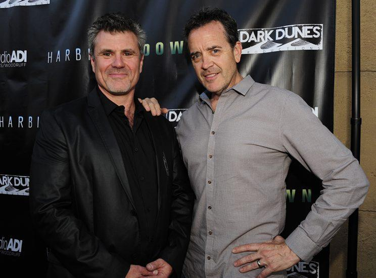 Amalgamated Dynamics co-founders Alec Gillis and Tom Woodruff Jr. in L.A. in 2015 (Photo: Amy Graves/WireImage)