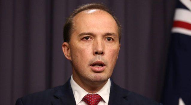 Peter Dutton made the controversial comments during question time on Monday. Source: AAP