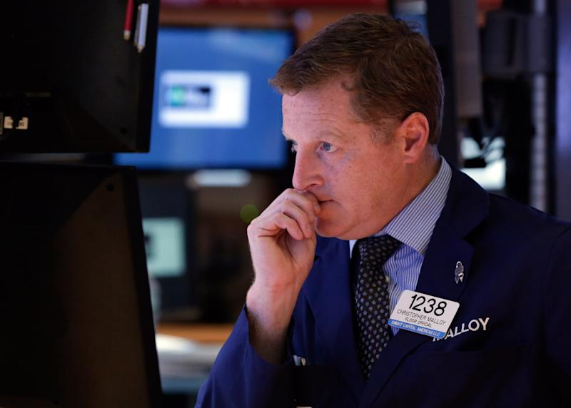 Stocks fall as fears of protracted shutdown grow