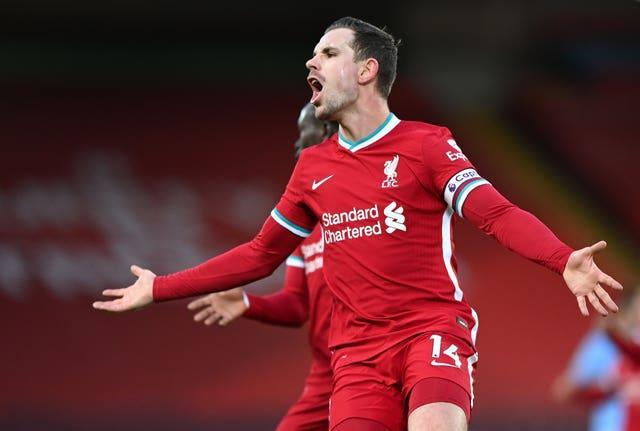 Jordan Henderson has been included despite not having played since February following groin surgery