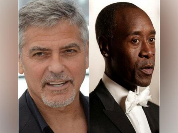 George Clooney and Don Cheadle