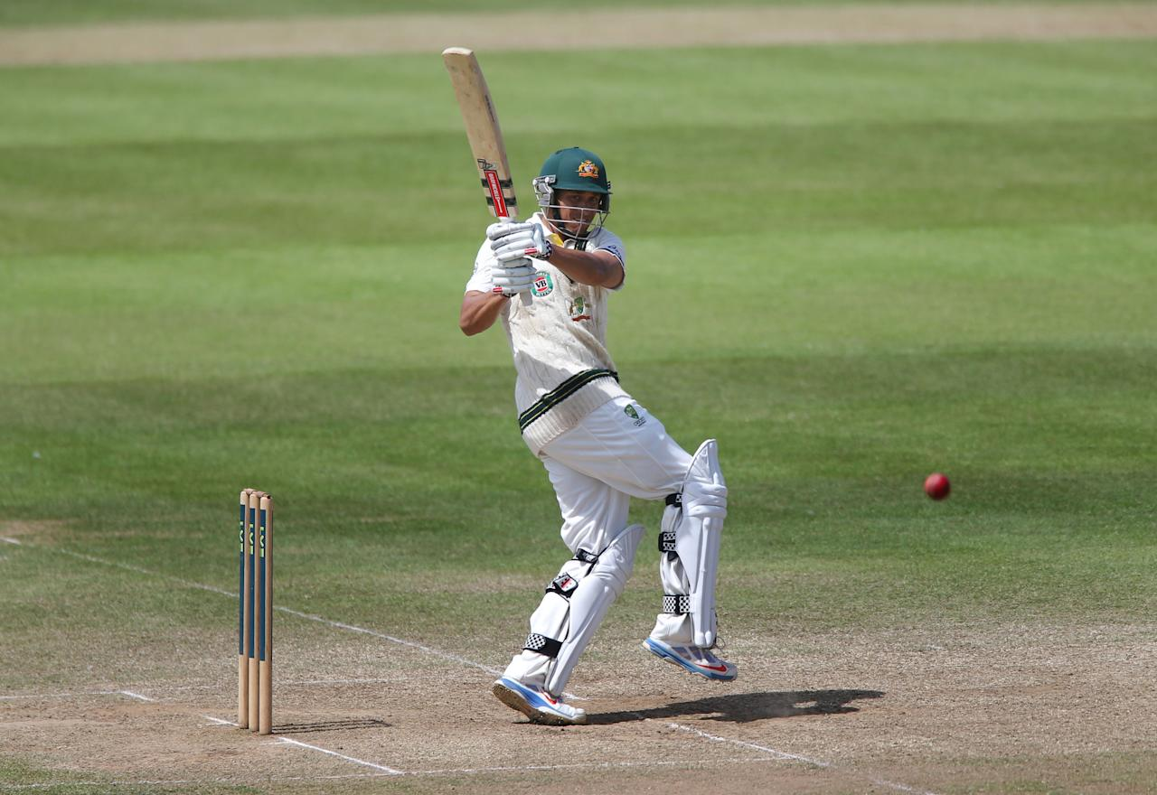 Australia batsman Usman Khawaja during the International Tour match at the County Ground, Taunton.