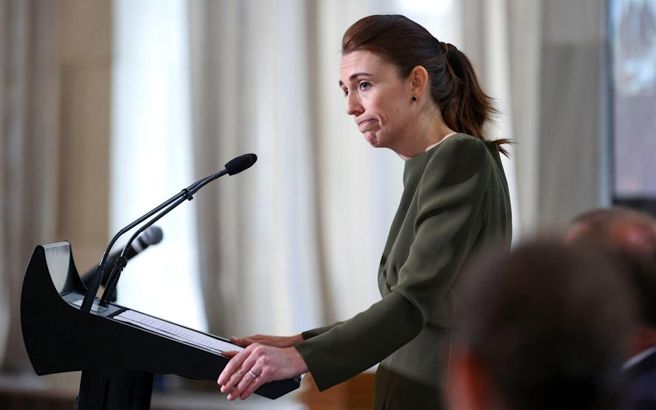 Prime Minister Jacinda Ardern - Hagen Hopkins/Getty