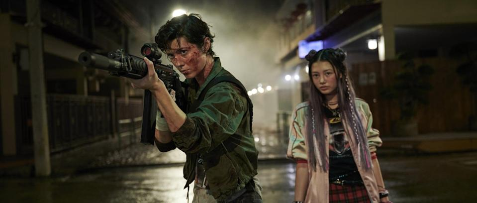"""<p>What happens when a trained assassin realizes she only has 24 hours left to live after being poisoned? She goes on an epic manhunt through the streets of Tokyo to take down her enemies of course! This is exactly what goes down in this action thriller starring Mary Elizabeth Winstead and Woody Harrelson.</p> <p><strong>When it's available: </strong><a href=""""http://www.netflix.com/title/80216200"""" class=""""link rapid-noclick-resp"""" rel=""""nofollow noopener"""" target=""""_blank"""" data-ylk=""""slk:Sept. 10"""">Sept. 10</a></p>"""