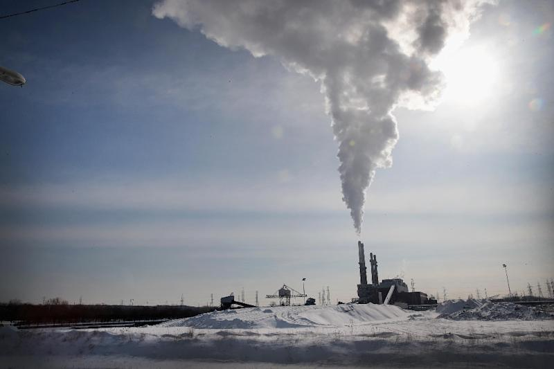 Coal is on course to provide only 25 percent of the US energy mix by the summer of 2019 (against 35 percent in 2015), while natural gas will account for 40 percent, according to an analysis published by the Energy Information Administration (EIA) (AFP Photo/SCOTT OLSON)