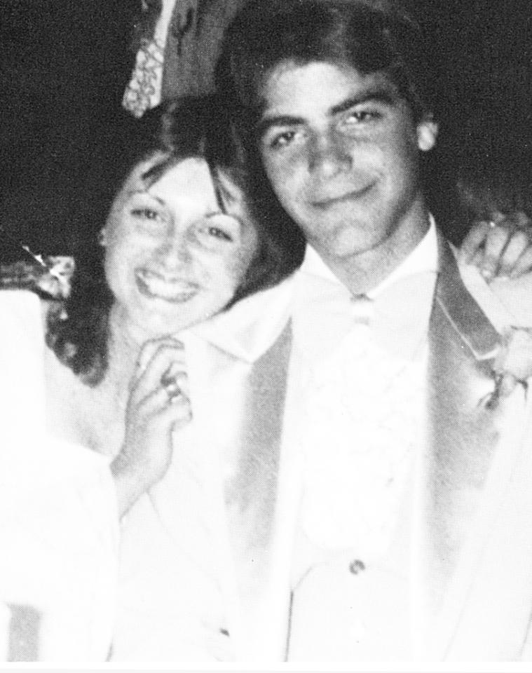 George Clooney, Augusta High School in Augusta, Kentucky (1979) Okay, George Clooney in high school wasn't quite as suave and debonair as he is today, but his prom date sure looked thrilled to be on his arm! At the time, Clooney had intended to become a pro baseball player, but sadly he didn't make the cut. Instead he went into acting, and we're all very, very grateful. View the entire prom gallery at Snakkle.com
