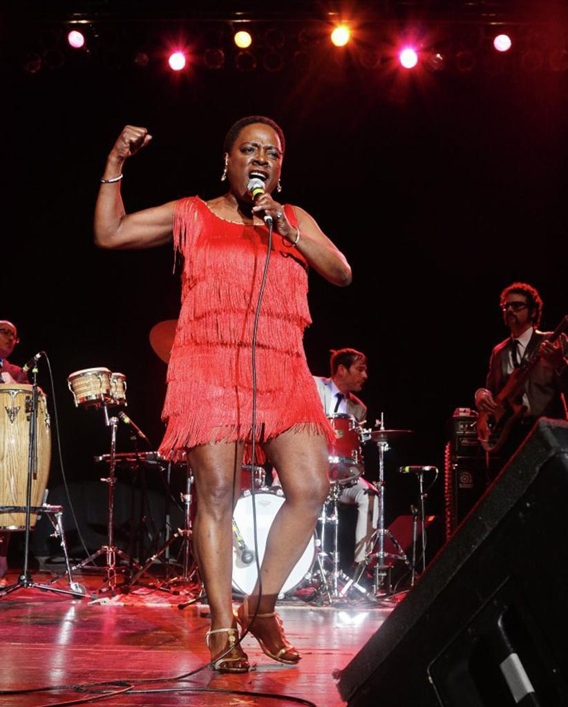 """<p>A song that's stirring on its own, and yet all the more moving for the way it expresses singer Sharon Jones' won't-back-down attitude in the face of cancer (which she succumbed to in November 2016), """"I'm Still Here"""" proves a rousing anthem of courage and defiance. (Photo: Starz) </p>"""