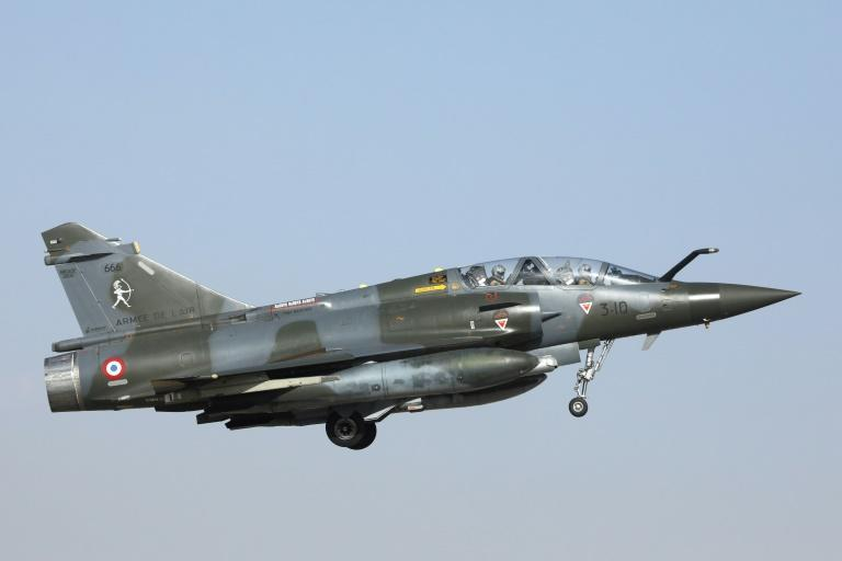 The January 3, 2021 air strike was carried out by a Mirage 2000 bomber of the type pictured above, according to the French military