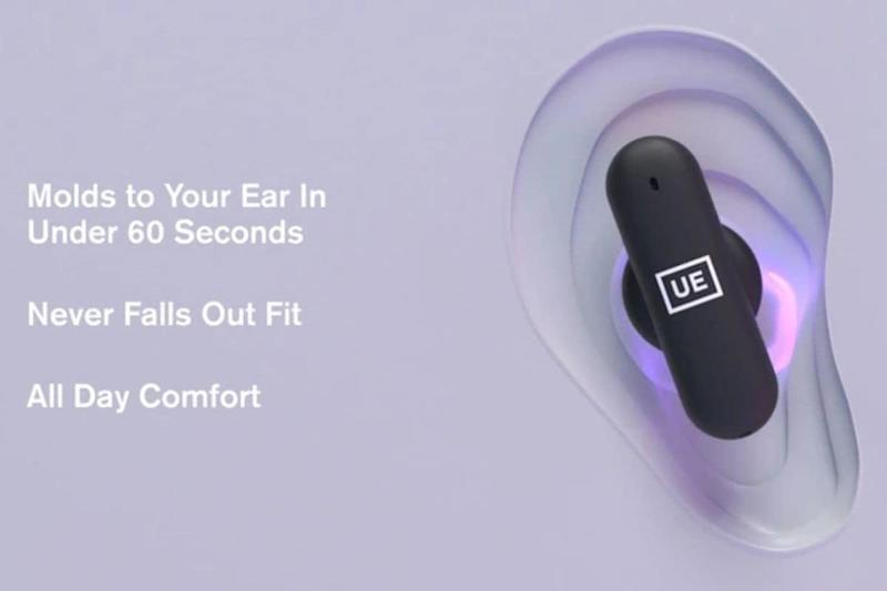 Ultimate Ears Launches UE Fits That Mold Itself to Fit Your User's Ear