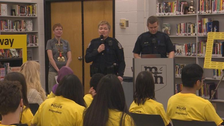 Special Olympian works with Edmonton police to eliminate the R-word