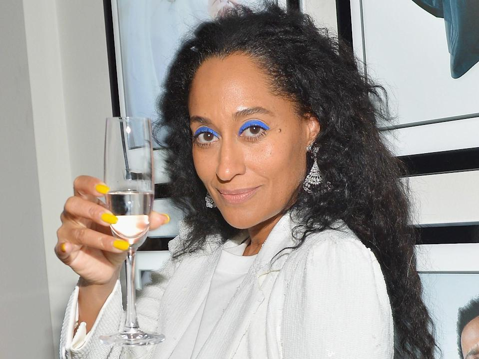 Tracee Ellis Ross stepped out on Friday night in a white sequin suit that's an homage to the women in Congress.