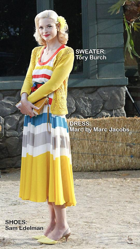 "<a>Jaime King</a> as Lemon Breeland in the Season 1 episode ""Gumbo & Glory."""