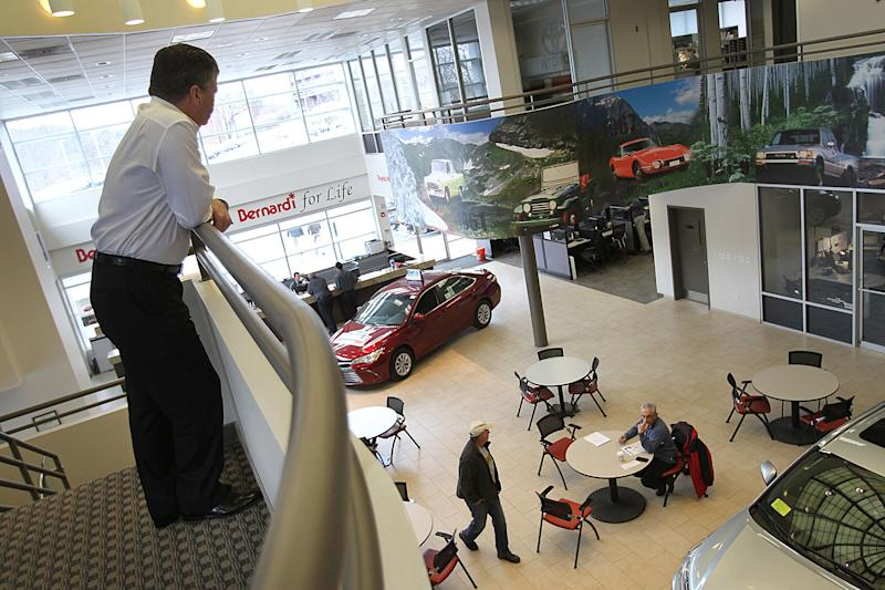 Auto Dealers See Slowing Sales Sparking Fears That A Longexpected - Auto