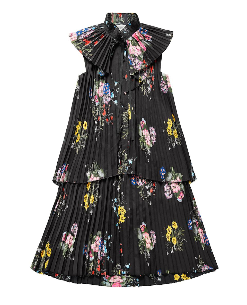 """<p>We challenge you to find a greater sartorial pairing than florals and pleats. We cannot wait to wear ours during the Christmas period. <em><a rel=""""nofollow noopener"""" href=""""http://www2.hm.com/en_gb/index.html"""" target=""""_blank"""" data-ylk=""""slk:H&M"""" class=""""link rapid-noclick-resp"""">H&M</a>, £99.99</em> </p>"""