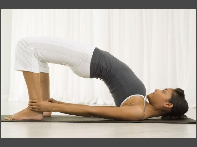 Here are a set of seven asanas that will strengthen your back and help straighten your spine. Before beginning ensure that you are wearing comfortable clothes made of natural material like cotton or linen, and that the room is well-ventilated. You should not be directly under a fan. Try to focus on the part/area you are strengthening or moving.