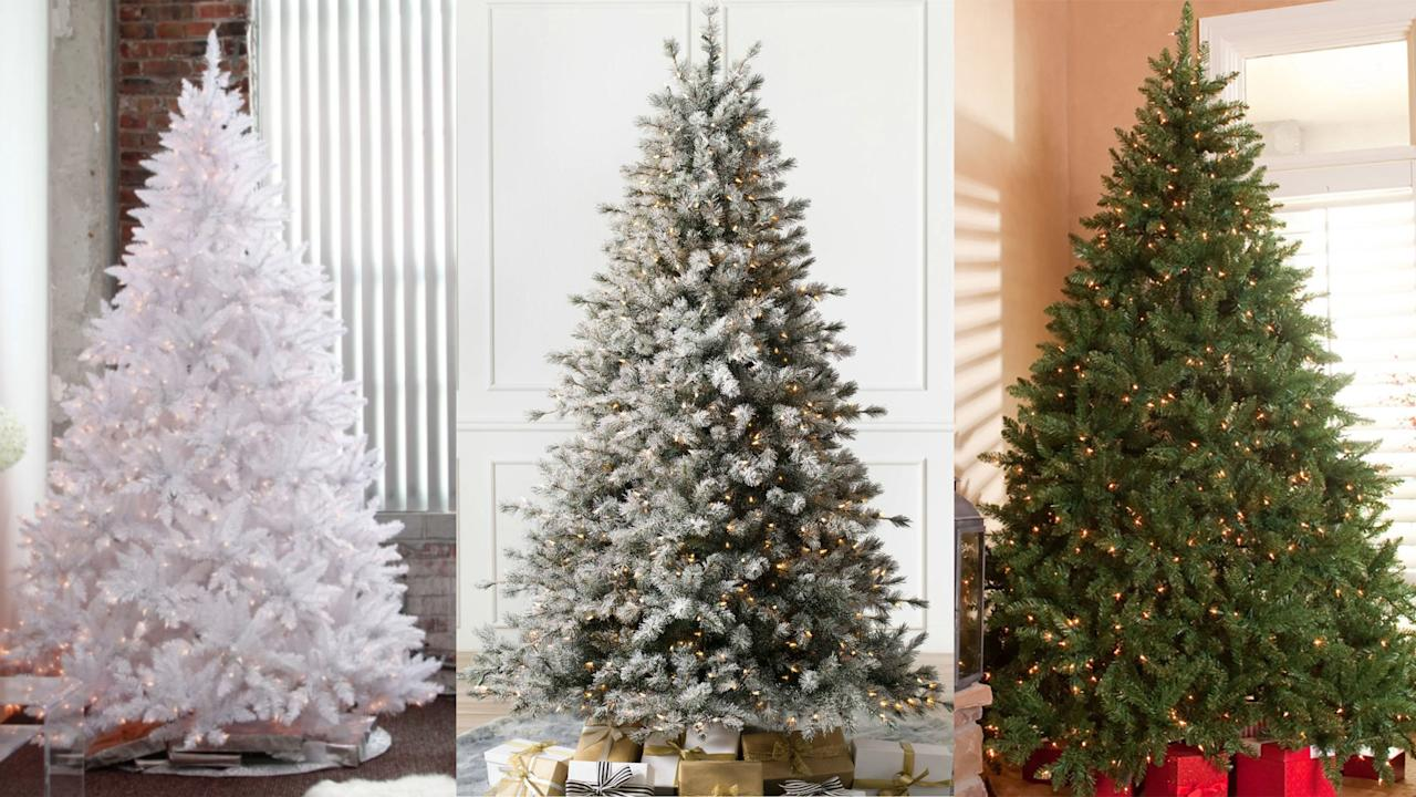 11 Artificial Christmas Trees That Are Even Better Than