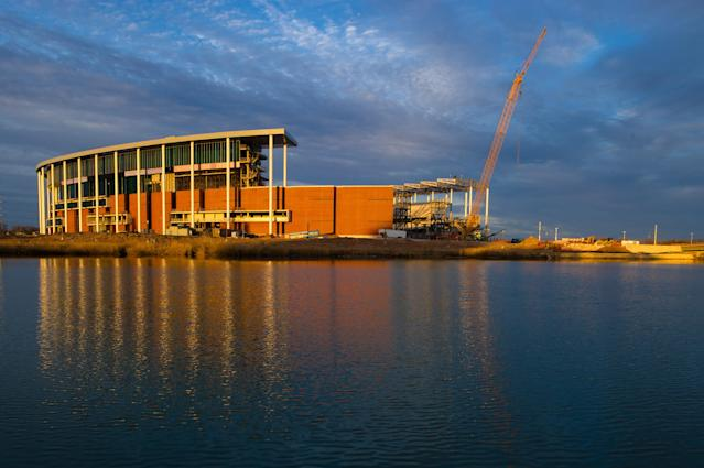 """Baylor's brand new stadium will feature pregame """"sail-gating"""""""