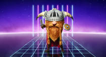 How will Viking fare in <em>The Masked Singer</em> battle? (ITV)