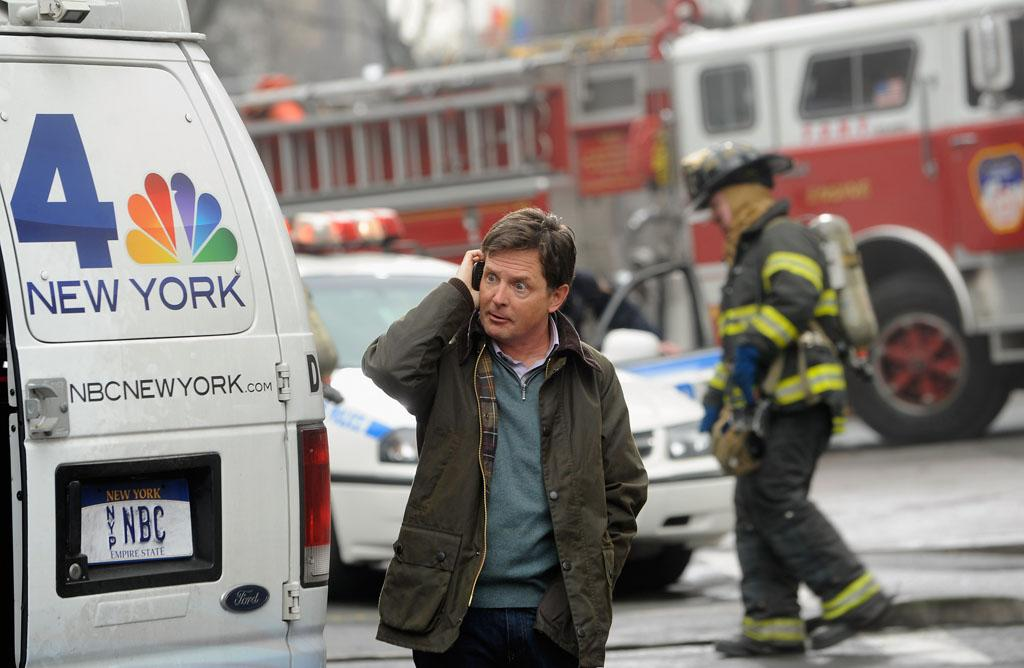 "Michael J. Fox On Location For ""Michael J. Fox Project""  on January 30, 2013 in New York City."