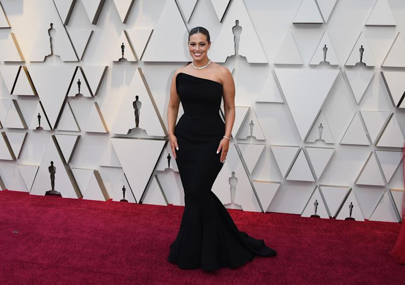 Ashley Graham ha sido una de las primeras en llegar al Dolby Theatre Getty