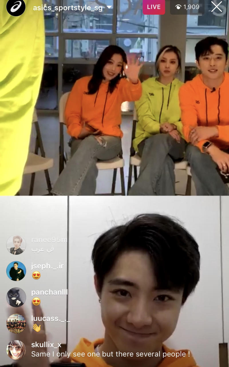Kard. (PHOTO: Instagram Live screenshot)